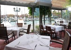 Hotel Club Marítimo dining