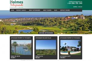 Holmes Sotogrande website