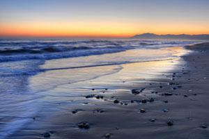 Sotogrande beach in the winter