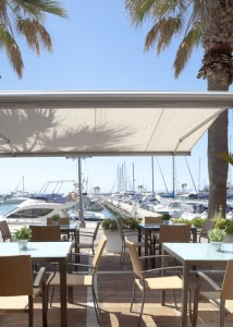 Sotogrande Port seen from Ke Bar