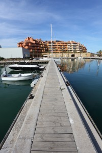 The marina of Sotogrande