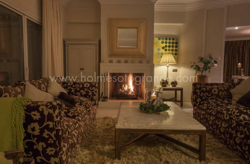 Winter comfort Sotogrande villa