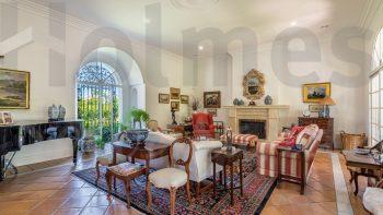 excepcional villa estilo andaluz