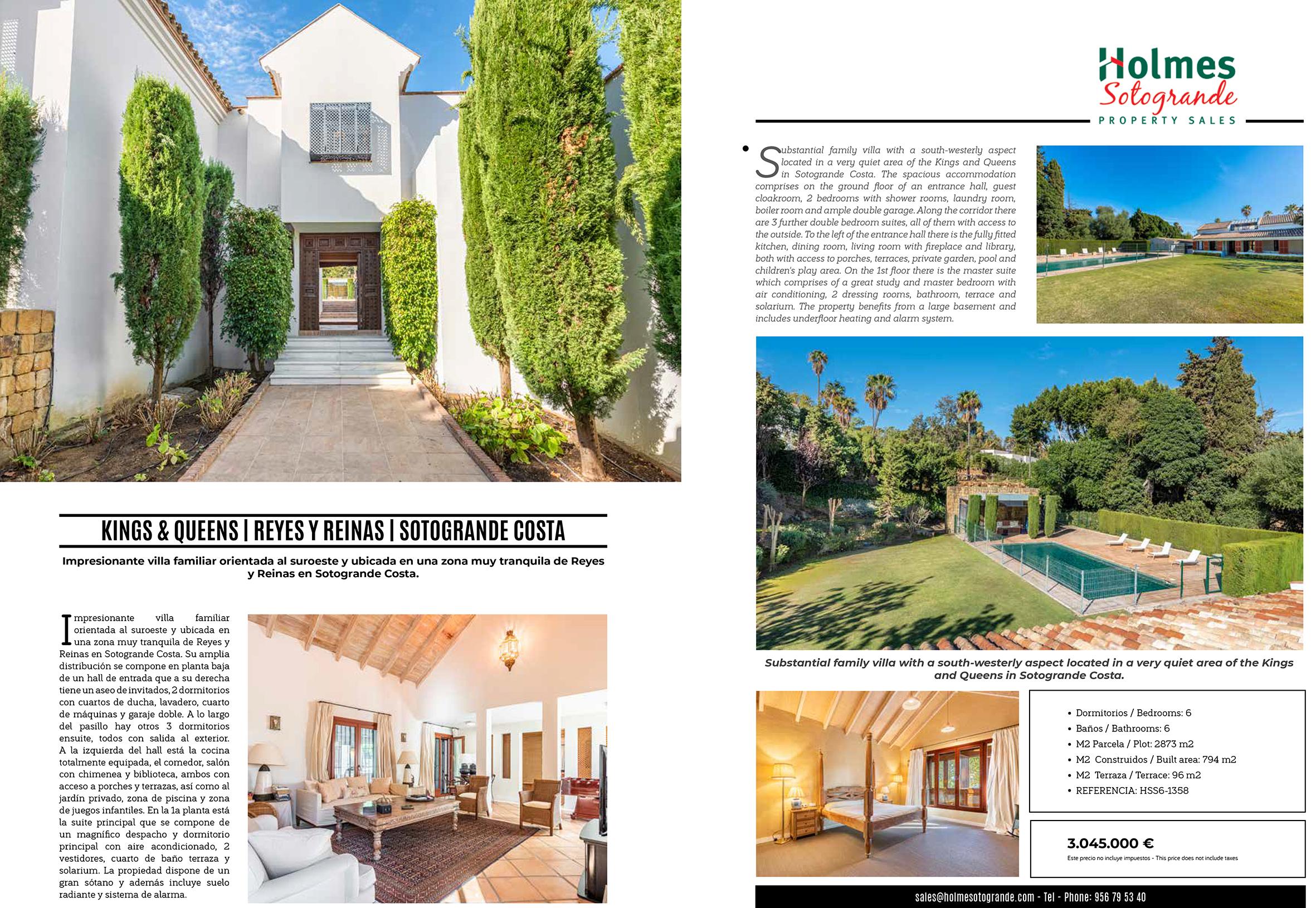 Sotogrande Costa Villa for sale