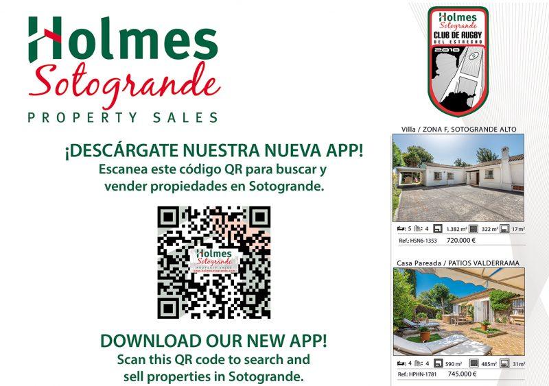 Holmes Sotogrande new app